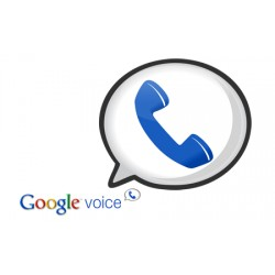 Google Voice (Minimum Quantity: 5 items)