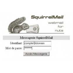 Unlimited Squirrel Webmail - Full DKIM, SPF, Private Domain, Private IP