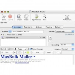 MaxBulk Mailer v6.8 - Full Serial