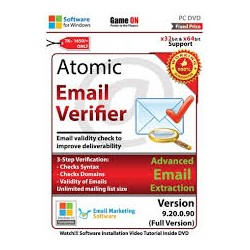 Atomic Email Verifier 9.2 Full Version